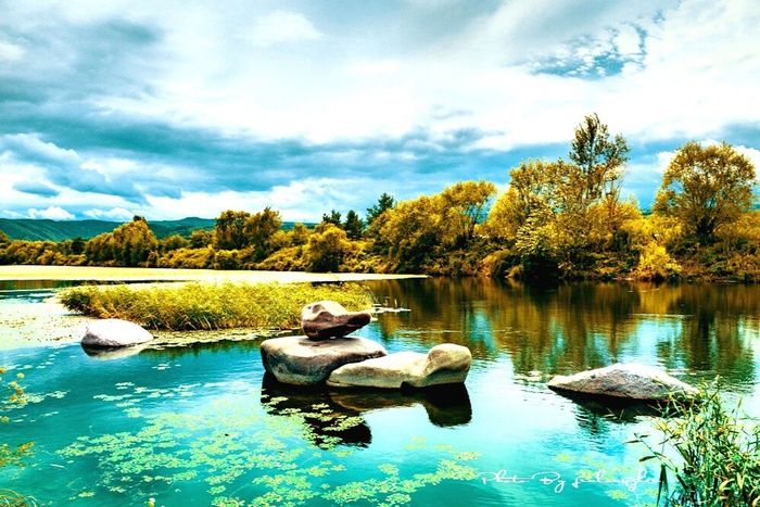 Lake Cloud - Sky Full Length Water Sky Real People Sitting Tranquility One Person Nature Day Tree Reflection Outdoors Tranquil Scene Leisure Activity Beauty In Nature Relaxation Scenics Lifestyles