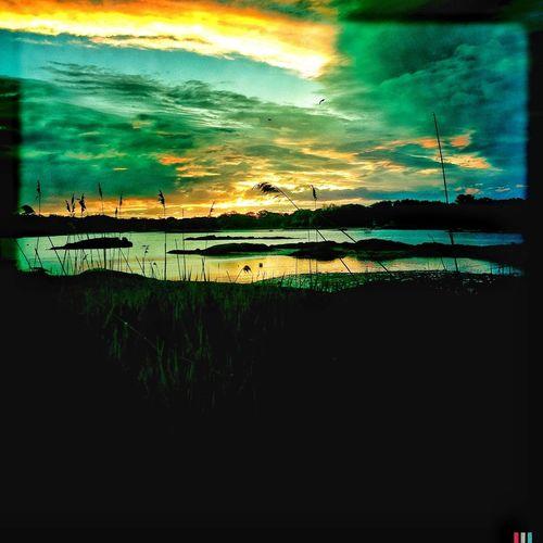 5:22am Nature Sunrise Landscape Water_collection