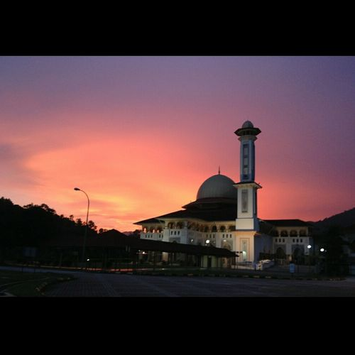 Raw Mosque Unedited Photo Pure Beauty Maghrib Nature Sony A6000 Eid Mubarak 2016