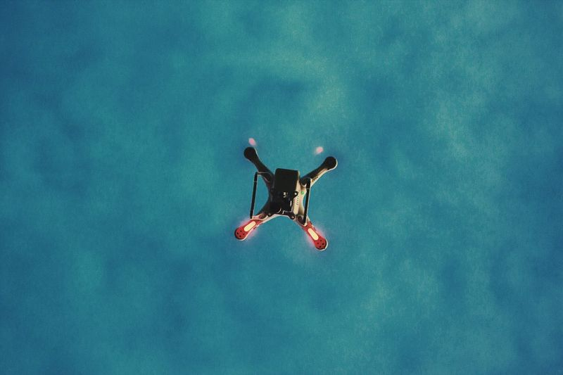 EyeEm Selects Nature No People Day Mid-air Low Angle View Outdoors Flying Sky Dji Phantom Drone