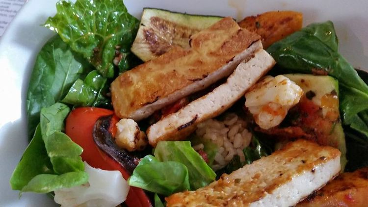 Close-up Denton, Texas Food Food And Drink Freshness Healthy Eating Plate Ready-to-eat Salad Serving Size The Bowlery