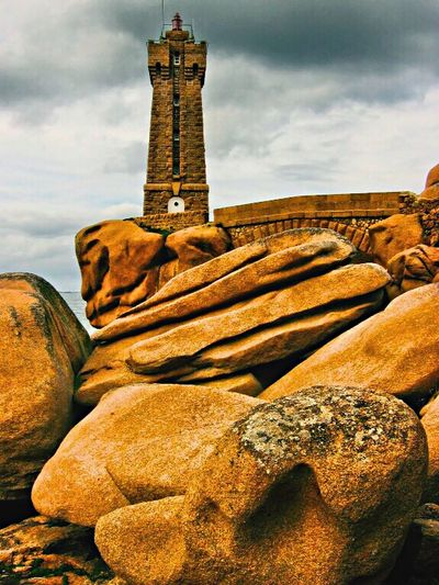 France Côte D'Opale Lighthouse Seaside Seascape Architecture Architecture_collection Rocks Check This Out Landscape