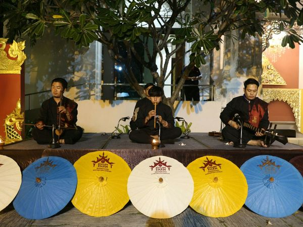 Thai Culture Thai Cultural Thai Instruments Northern Thailand Real People Local Culture Instruments Performance Performance Show Outdoors