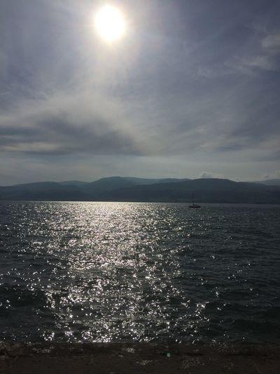 Sea Sky Morning Peace Sun