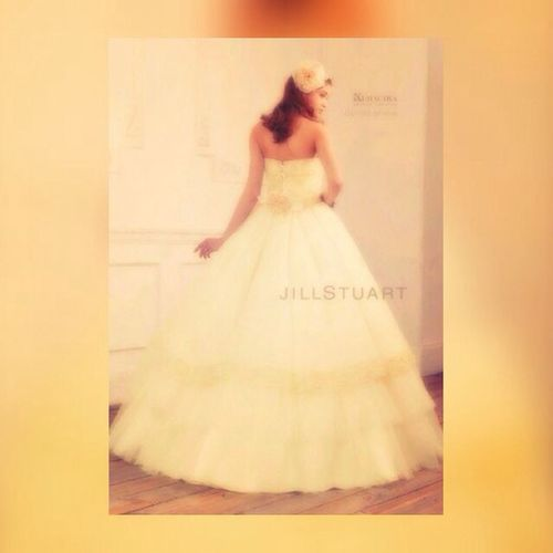 Dress Wedding Jillstuart White