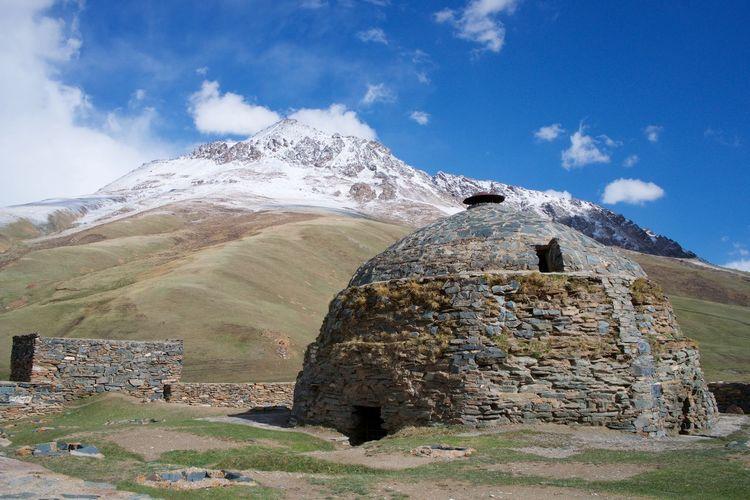 Kyrgyzstan Tash Rabat Mountain Ancient Ancient Civilization Outdoors Archeology Architecture