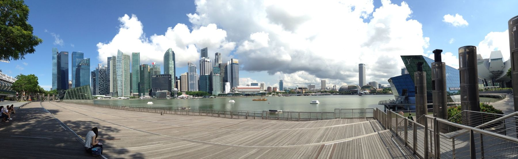 No Filter Iphone5C Sky Beautiful Scenery Singapore Panorama
