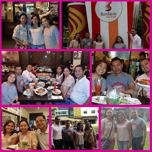 Thanks for the treat Tita Apple, Tito Jay, Tito Jigs and Ate Bianca!!! Thankful Italiannis HappyTummy BoniHighStreetGlobalCity SoBlessed YourNiece Kathleen :-)