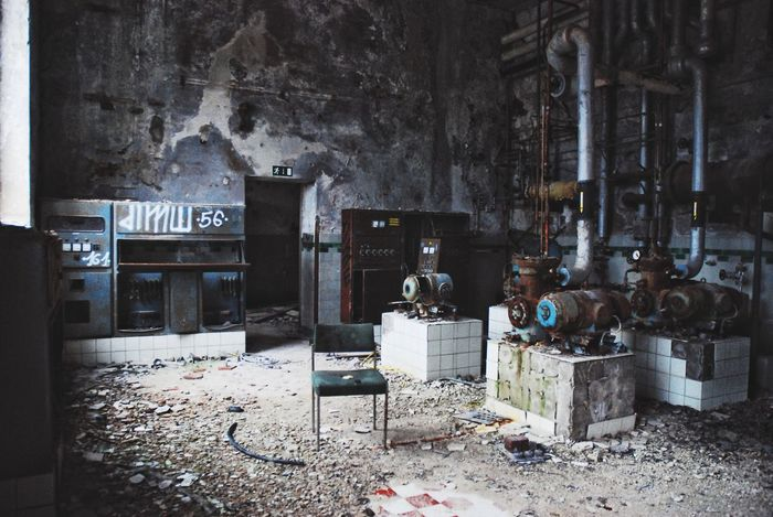 Industry Factory Old Buildings Lost Places Abandoned Messy Damaged Architecture Built Structure Indoors  No People