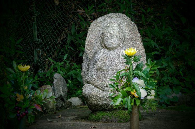 石仏 箕面 地蔵