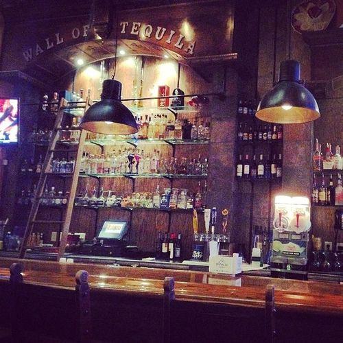 Wall of Tequila. Bar Tequilabar Walloftequila