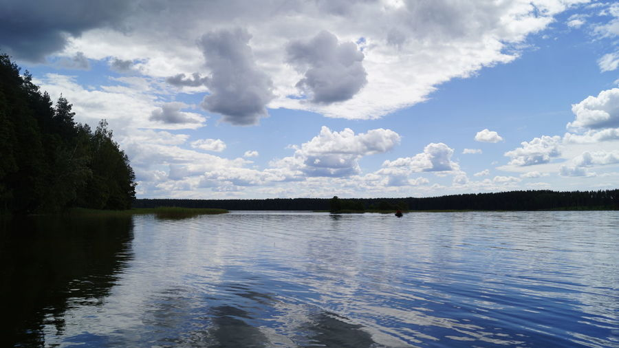 Beauty In Nature Cloud - Sky Day Lake Nature No People Outdoors Reflection Scenics Sky Tranquility Tree Water