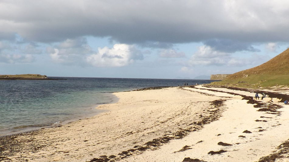 Beach Coastline Coral Beach, Isle Of Skye Exploring Isle Of Skye Ocean Outdoors Remote Seascape Vacation
