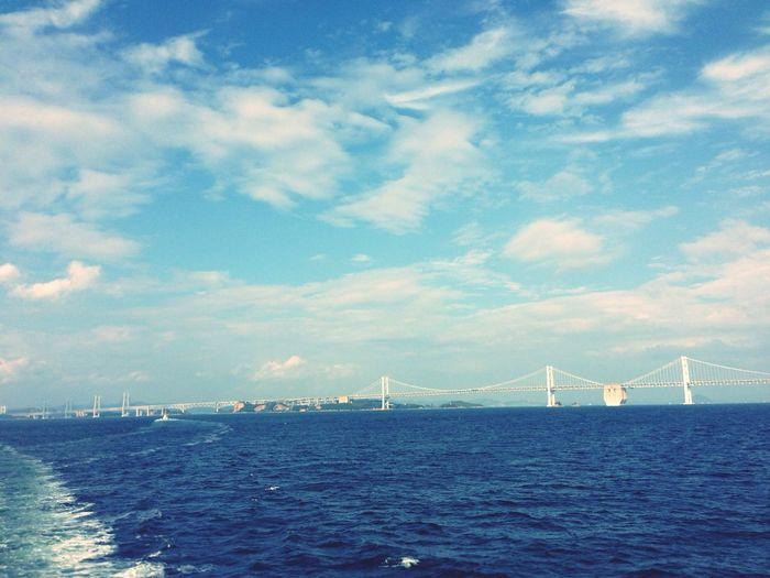 瀬戸大橋 Bridge Sea