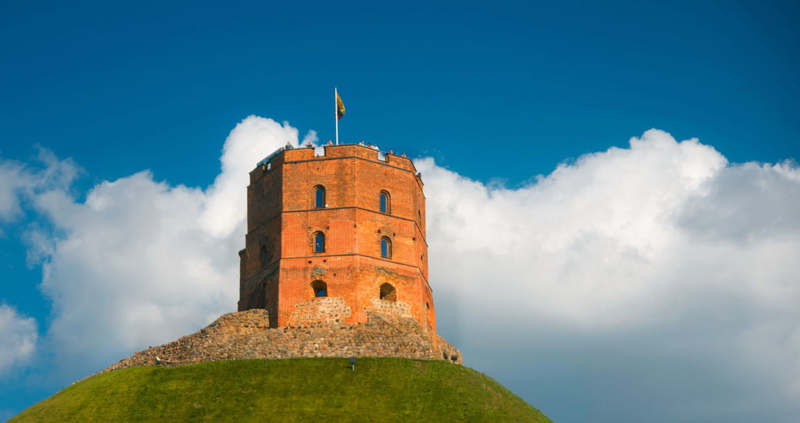 Gediminas Tower History Lithuania Medieval Sky Tower Vilnius Vilnius Old Town