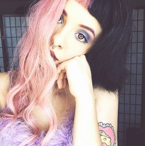 Pacify her, she's getting on my nerves, you dont love her, stop lying with these words Singers Indie Alternative MelanieMartinez Melanie Martinez Pacify Her Crybaby Cry Baby Pink First Eyeem Photo Spotify