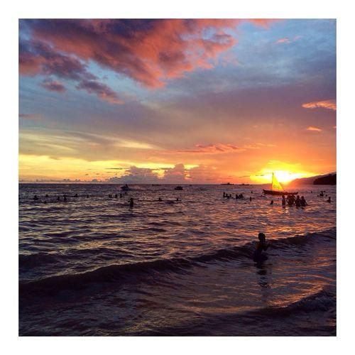 Phonetography ❤️ Sunset Sunset #sun #clouds #skylovers #sky #nature #beautifulinnature #naturalbeauty #photography #landscape