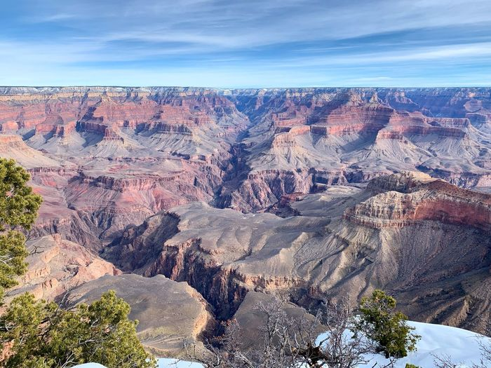 Grand Canyon at the South Rim Arizona Scenics - Nature Nature Tranquil Scene Sky Beauty In Nature Environment Tranquility Travel Destinations Landscape Rock Formation