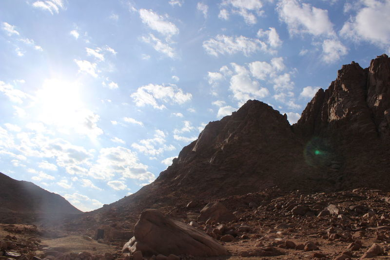 Day Fancy Landscape Mountain Mountains Mountains Egypt Nature No People Outdoors Rocks S Saintcatherine Sun