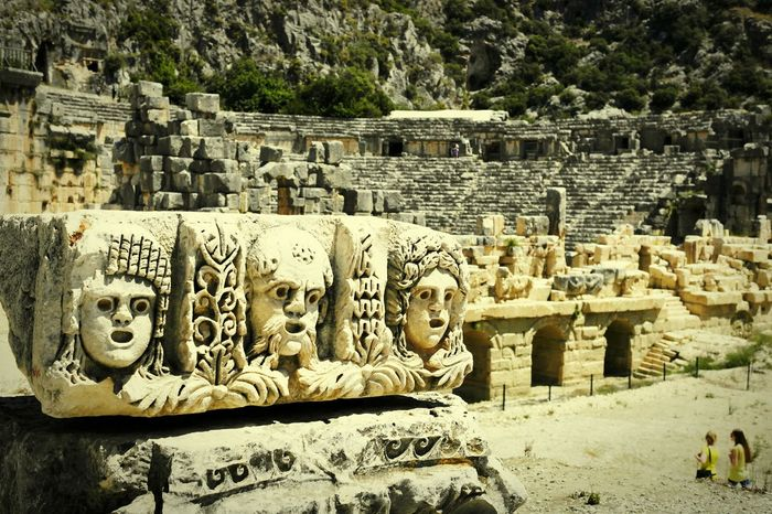 History Walking Around Taking Photos Getting In Touch Escaping Traveling On The Road Aspendos  Antalya Turkey