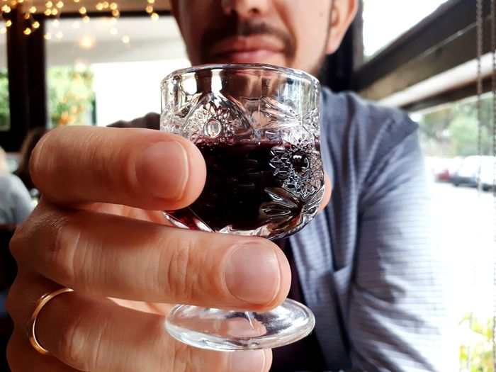 Cheers Drink Drinking Glass Liqueur Liquor Cheers Alcohol Sunday Fun Husband Relaxing Offering Hand Adults Only Food And Drink One Man Only Only Men Drink Adult Focus On Foreground Drinking Glass Alcohol Indoors