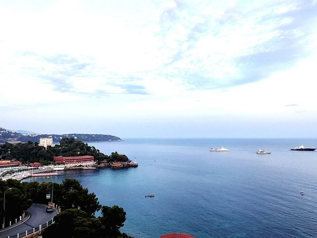 Watercolour? Bolonie Style Bolonie Art Bolonie The Week On EyeEm Sea Sky Clouds Architecture Nature Outdoors Bolonie Ladyphotographerofthemonth Beach Hotel Cap Martin EyeEmNewHere Bolonie Style Beauty In Nature Yacht Tranquil Scene