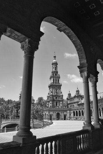 Square Square Andalusia Spain, Andalucia Historical Building Big Square Black And White Architecture The Week On EyeEm Done That.