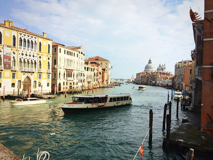 The Places I've Been Today Venice Italy Accademia Lights Sun Art Traveling Beautiful