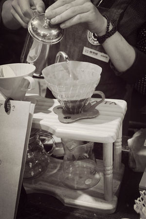Hand Drip Coffee Coffee Time Monochrome EyeEm Best Shots