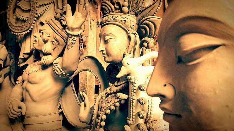 Mayapur Durga Puja Be. Ready. EyeEmNewHere