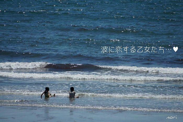 梅雨の晴れ間は暑かったf(^_^;今日もお疲れさまでした~🙋 ~ Girl was in love with wave~ Good night🌙 ☺✋ Love_blue キラキラ *CHIE* いつもの場所 同じ空の下 繋がる想い Seascape Landscape Sea_collection Kagoshima