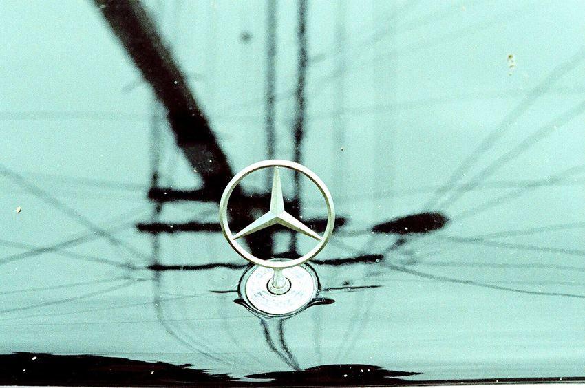 Close-up Zenit122 Transportation Film Lomo Xpro 100 Koduckgirl Mercedes Classic Car