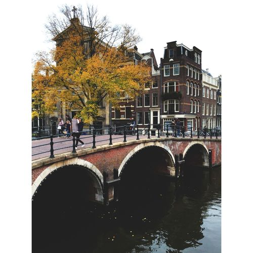 Amsterdam Canal Amsterdamcity Nowadays Lifestyle