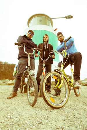 Klappradclique 12mm  Aarhus, Denmark Adult Bicycle Carefree Clique Freedom Fresh On Eyeem  Friendship Good Times Healthy Lifestyle Klapprad Males  Outdoors Togetherness Vacation Young Adult Mobility In Mega Cities Press For Progress