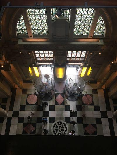 London Lifestyle Victoria & Albert Museum Building Victorian Architecture Revolving Door Light Tiles Windows EyeEm LOST IN London