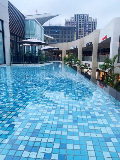 景 Building Exterior Architecture City Built Structure Swimming Pool Water Pool