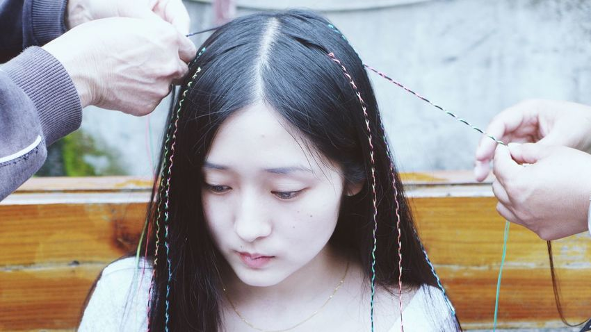 Braiding is a cultural thing Braids Myself FengHuang Fenghuang Of Southwest Of Hunan Ancient Town Cultural Heritage