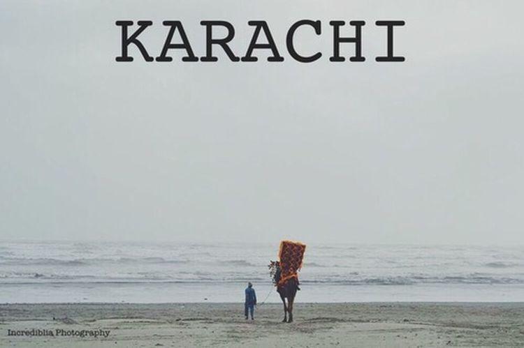 My hometown ❤️ Travel Photography Karachi Beach Incredibliaphotography