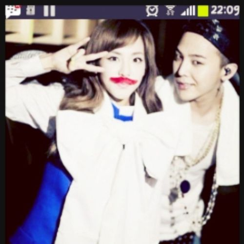 My Wallpaper :D Dara & GD :* Daragon :) :* Sandara Gdragon Like4like DoomDara