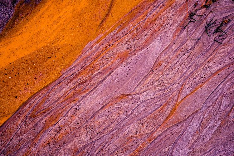 Full frame shot of rock formations