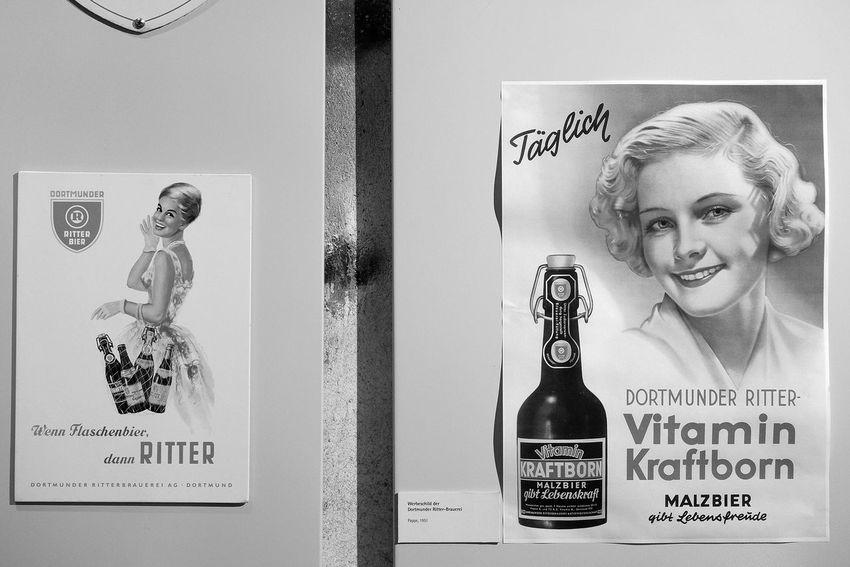 Dortmund Ruhrgebiet Blackandwhite Fujifilm X-E2 Industriekultur Plakate Im Biermuseum Dortmund auf der Extraschicht 2016