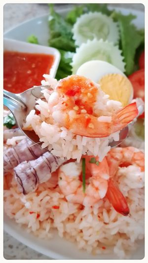 Thai Food Chanthaburi Thailand Yummy! Spicy Saefood Sauce Shrimp Mantis Shrimp Delicious 맛있이요 จันทบุรี