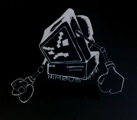 nimbus logo..official.... Logo Design Urban Art Computer Rebellion Art Artistic Expression My Hobby Creativity