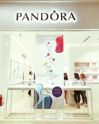 Indoors  Illuminated Shopping Luxury Pandora Charms Posh Girly EyeEmNewHere