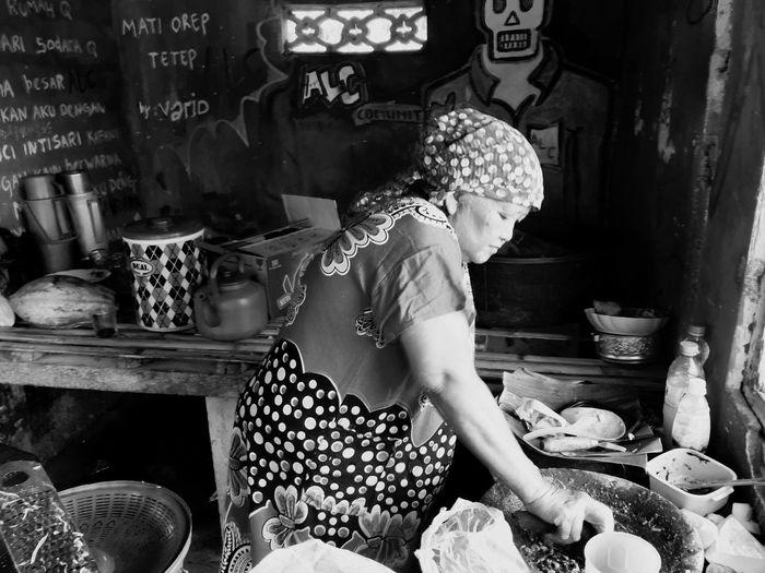 Blackandwhite Iphonephotography Streetphotography Foodphotography Traditionalfood Banyuwangi,Indonesia
