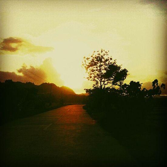 On The Road Taking Photos Enjoying Life Eyeemphotography Eyeem Philippines Philippines Enjoying Nature Sunset I Love Sunsets