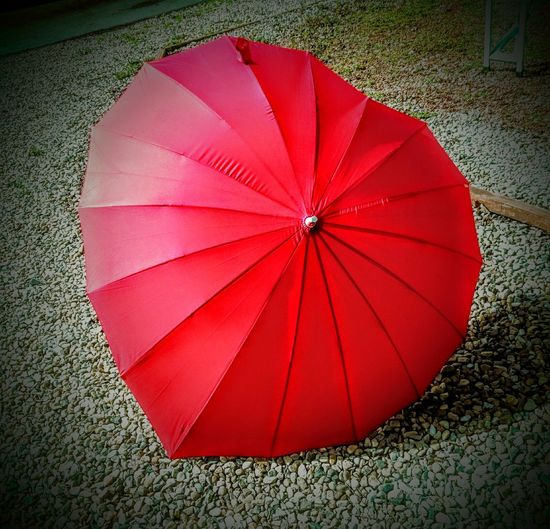 Umbrella Heart Shaped  Still Life Still Life Photography Close-up Vibrant Colour Shape And Form Simple Things In Life