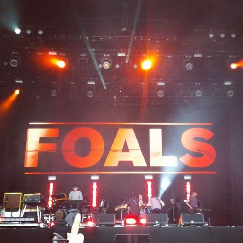 Foals Derry Onebigweekend Radio1 lights gig awesome music