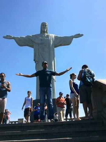 People Large Group Of People Adult Blue Men Outdoors Young Adult Adults Only Vacations Connected By Travel Connected By Travel Full Length Rio De Janeiro