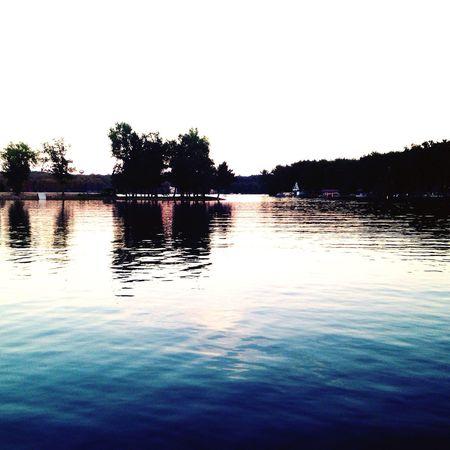 Outdoors Lake Enjoying Life